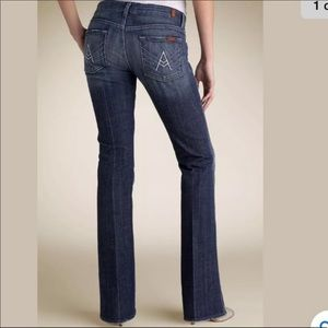 """7 For All Mankind """"A"""" Pocket Bootcut Jeans 32"""